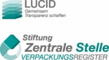 Das Verpackungsregister LUCID ist eine Datenbank der Stiftung Zentrale Stelle Verpackungsregister (ZSVR) zur Umsetzung des Verpackungsgesetzes. Hier finden sich alle datenbankrelevanten Vorgänge, die durch das Verpackungsgesetz im öffentlichen Bereich der ZSVR vorgesehen sind.